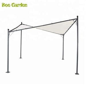 12x12 ft Polyester Fabric Heavy Duty Outdoor Square Steel Butterfly Gazebo