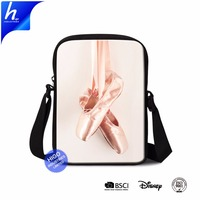Girls Handbags Ballet Shoes Design Ladies Cross-body Bag For Promotion