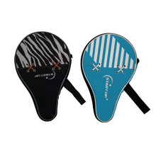 Professionele Custom Paddle Enkele Cover Bag Oefening Foam Padding Tafeltennis <span class=keywords><strong>Racket</strong></span> Zakken