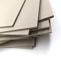 Hard stiff paper paperboard 2mm grey book binding board