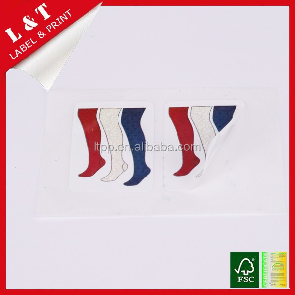 Waterproof stockings color stickers