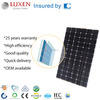 310W High efficiency bipv roofing solar panel, pv double glass solar panel building integrated photovoltaic system