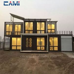 Customized durable prefab kit home/house/villa