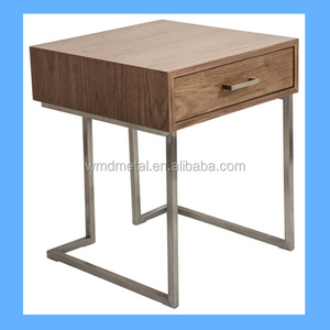 stainless steel living room accent table frame