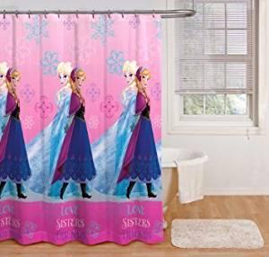 Get Quotations Disney Frozen Fabric Shower Curtain