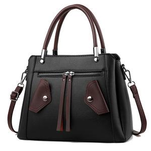 2379d6fce 2018 new design hand bag Women Zipper PU Leather Handbags Shoulder Bag  Crossbody Bags from guangzhou