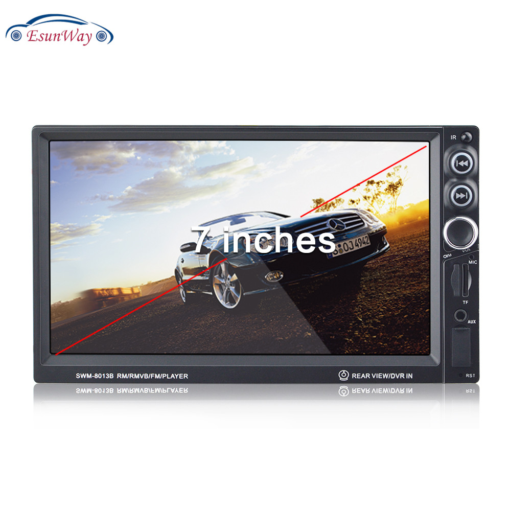 Two Din 7Inch Bluetooth Car MP5 Player with GPS Navigation