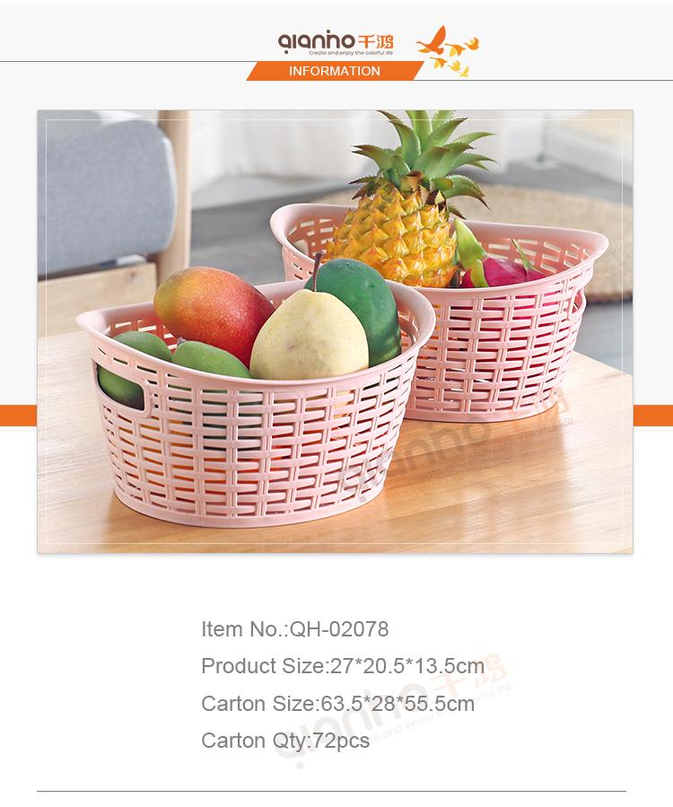 الصين مصنع أفضل سعر المطبخ الخضار صندوق تخزين بلاستيكية صغيرة سلة غذاء للفاكهة بدون غطاء Buy سلة الفاكهة سلال بلاستيكية بالجملة البلاستيك سلات تخزين Product On Alibaba Com
