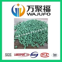 TPR recycled granules for artificial grass laying and infilling
