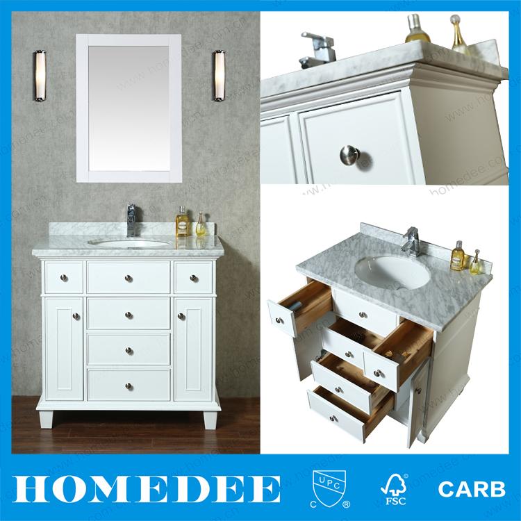 Homedee gros teck bois 12 pouce profonde salle de bains for Acheter meuble de salle de bain