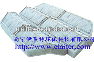 Column internal: wire gauze demister
