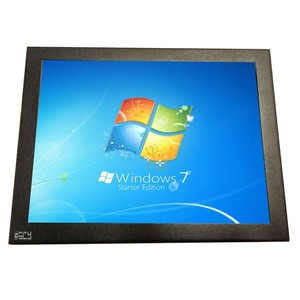 8 Inch 4:3 LCD Open Frame Monitor with HD VGA, AV, DVI and Touch for Medical, POS