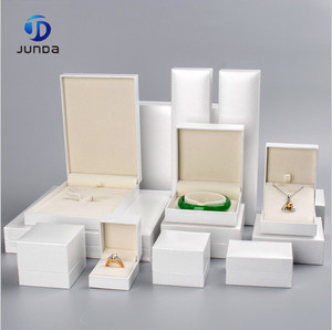 Wholesale fancy custom printed jewelry box with sponge insert holder