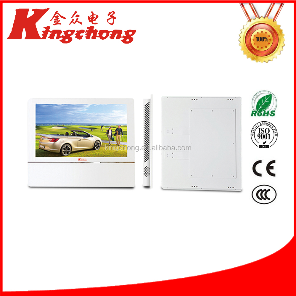 2017 Canton Fair 22 inch wall mounted super thin lcd digital signage for Elevator