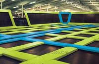 Best quality customized commercial indoor jumping trampoline park gold supplier
