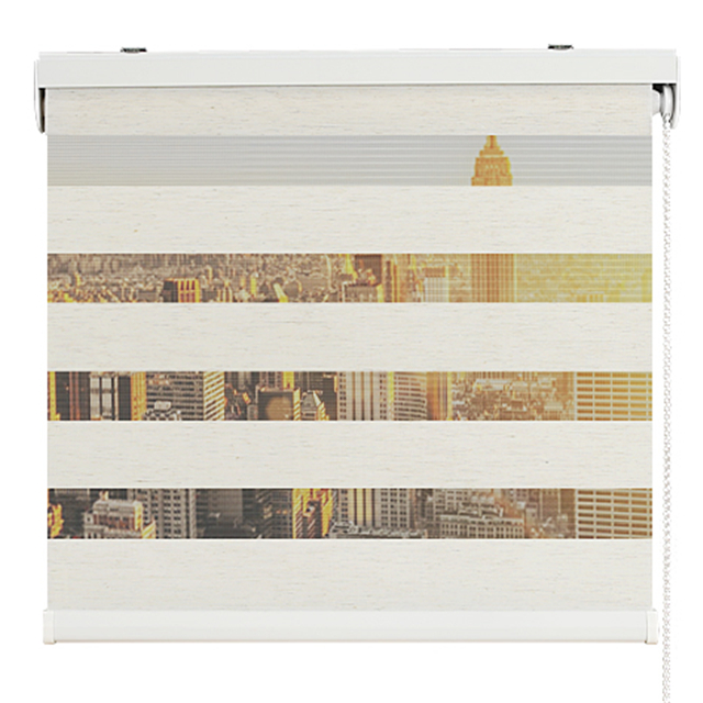 Zebra Kitchen Decor: Turkish Style Acoustic Zebra Roller Blind Curtains For