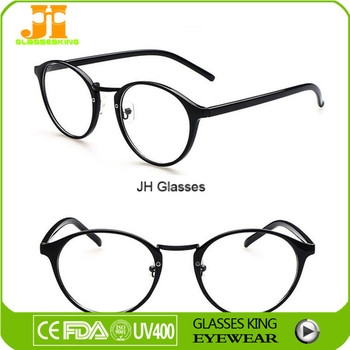Round Frames Glasses Fashion Acetate Optical Frame - Buy Acetate ...