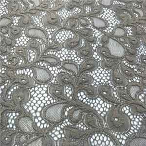 2018 Hottest Nylon Spandex Lace With Lace Prices Elastic Lace Fabric