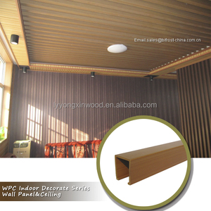 SOUND ABSORBING PVC CEILING BOARD, Cheap price WPC interior wall decorative wall panel & ceiling