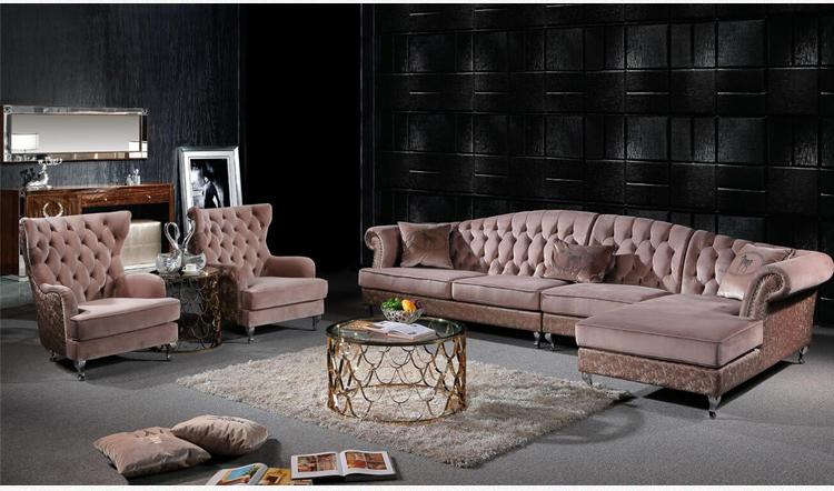 Germany Sectional Corner Fabric Sofa Modern 9 Seater ...
