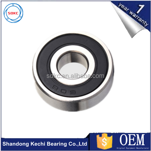 China Manufacturer High Quality Cheap Price 608 2rs Deep Groove Ball Bearing Size 8*22*7mm