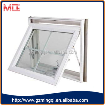 swing out aluminium awning window for bathroom
