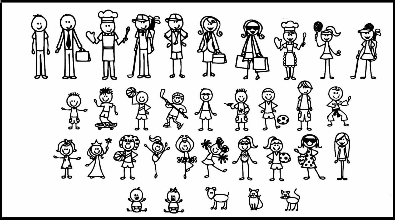 Поиск, картинки нарисованных человечках прикол