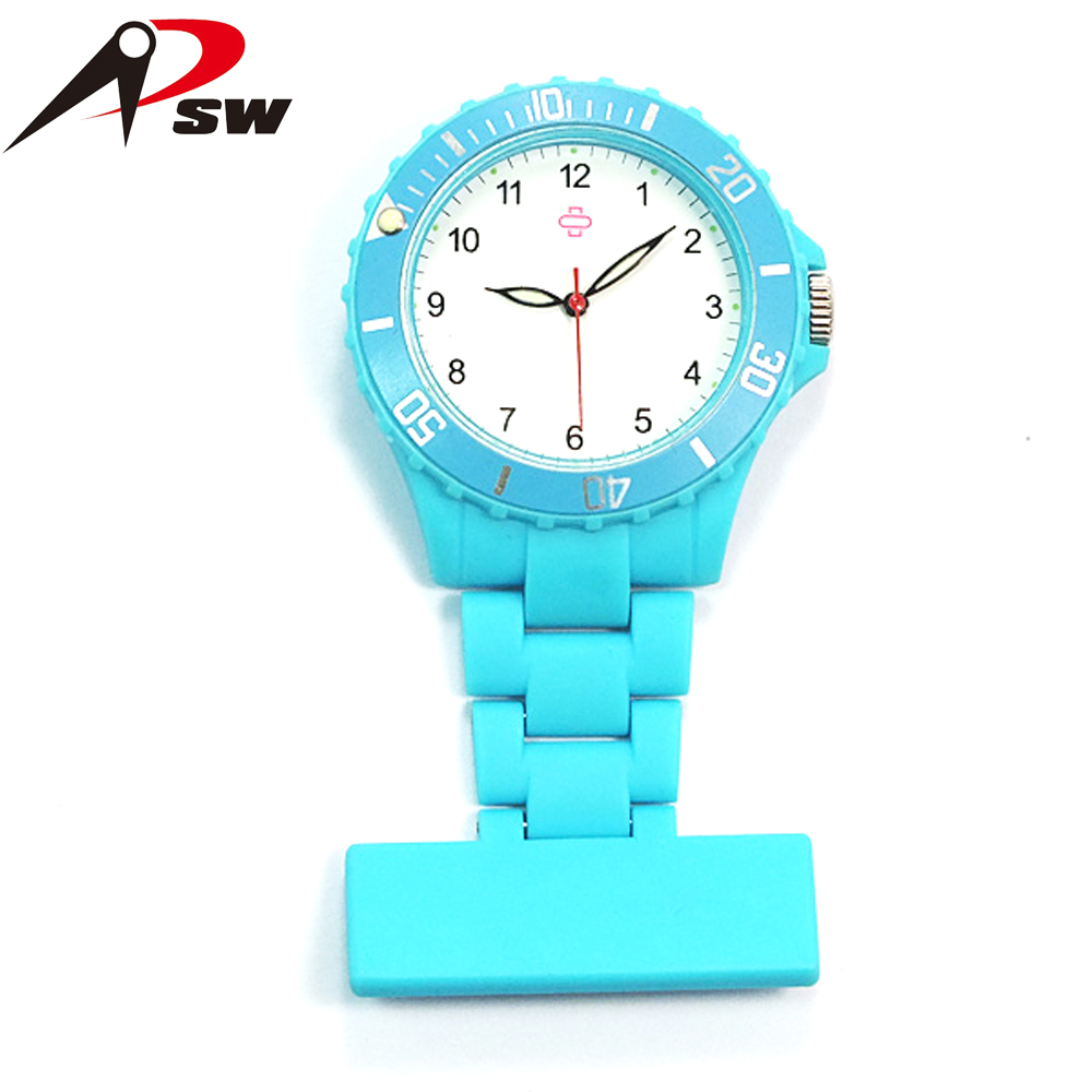 Wholesale promotion steel case back silicone digital nurse and doctor watches