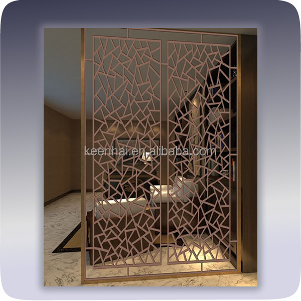 Fashion Metal Mesh Room Divider For Room Decoration