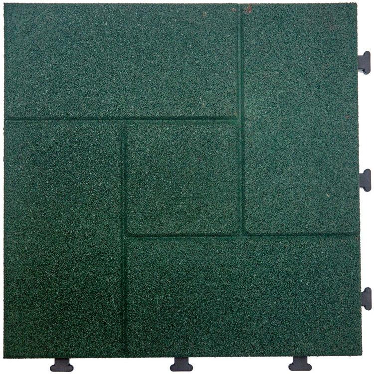 Non Slip Outdoor Rubber Patio Flooring Tiles