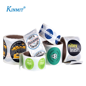 Kinmit Custom Packing Boxes Usage Printed Self Adhesive Safety Seal Label