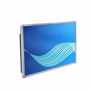 cheap lcd wall mount touch screen 24 inch advertising player interactive panel Android OS with WIFI