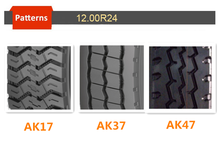 12.00R24 AK17 HEAVY DUTY RADIAL TRUCK TIRES