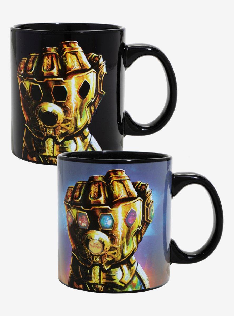 Marvel Avengers: Infinity War Gauntlet Heat Reveal Mug