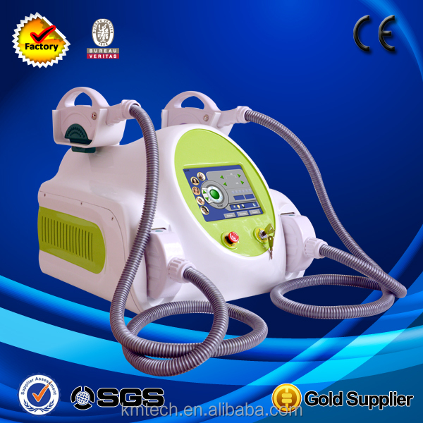 Medical CE approved Europe clients prefered best professional two handles painless ipl rf shr machine / ipl rf shr skin care
