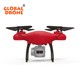 Global Drone SH4 FPV Quadcopter RTF Aircraft Selfie 720P Camera Dron RC Drone