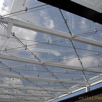 solid apet sheet instead of solid polycarbonate sheet for roofing snd skylight