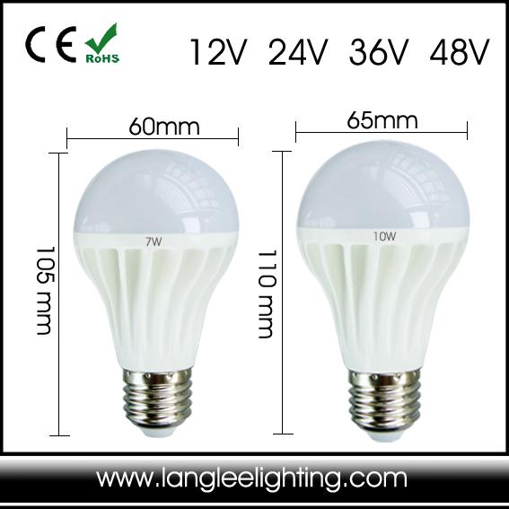 Low Voltage Globular E26 E27 12v 24v 36v 48v For Marine Or Solar ...
