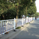 Corrugated guardrail retractable safety barrier designs crowd control traffic barrier removable chain pole