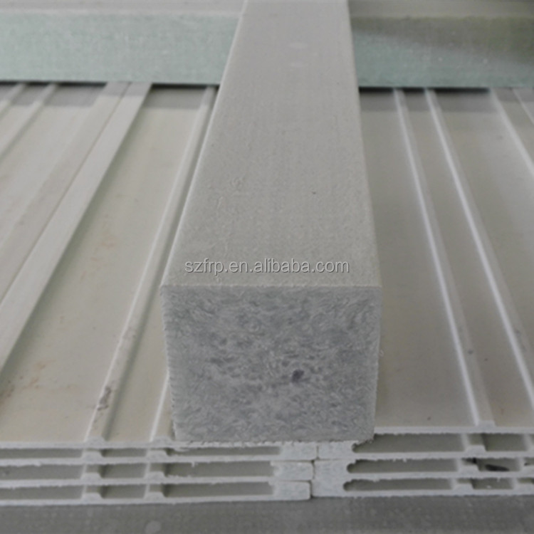 frp grp fiberglass glassfiber reinforced plastic square solid rod