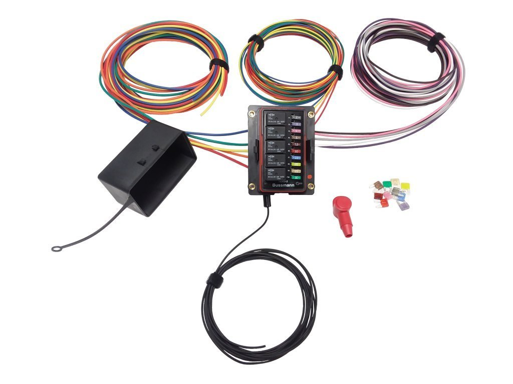 Cheap Universal Fuse Panel Find Deals On Line Wire Harness W Box Get Quotations 15303 2 Pre Wired Waterproof Relay 80 Amp 12v 10