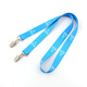 Askpet fashion sublimation rope neck rpet lanyard for id card holder keys