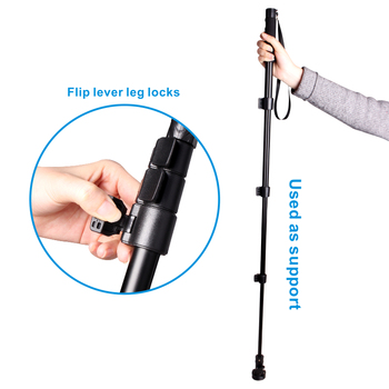 Cambofoto wireless monopod selfie stick for smartphone