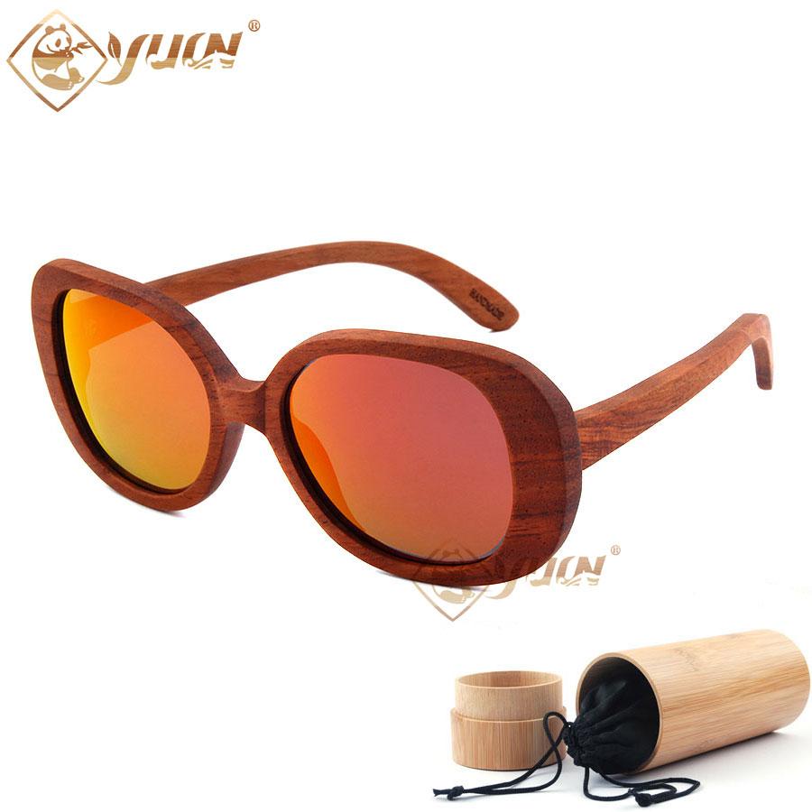 388630e9d72d Super retro bamboo wood sunglasses polarized REVO mirror lens vintage big  size eyeglasses men women wooden