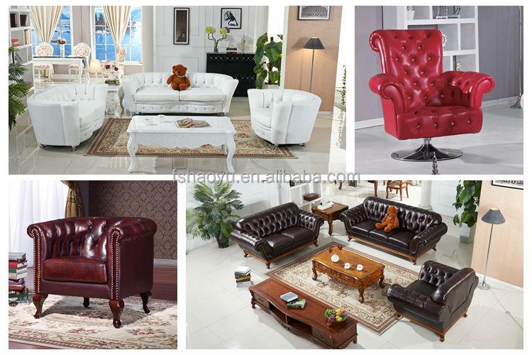 Fancy turkish fabric living room sofa turkish sofa - Mixing leather and fabric living room ...