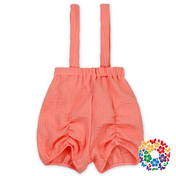 2017 Newest Design Shorts Solid Color Fashion Suspender Shorts Wholesale Cotton Short Pants