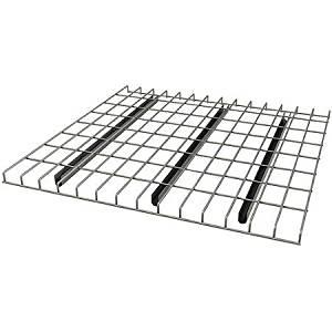 """Pallet Rack Wire Decking, 46"""" x 42"""", Silver"""
