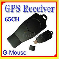 65 Channels USB GPS Dongle GPS Receiver for Car MAP Navigation g-mouse gps receiver