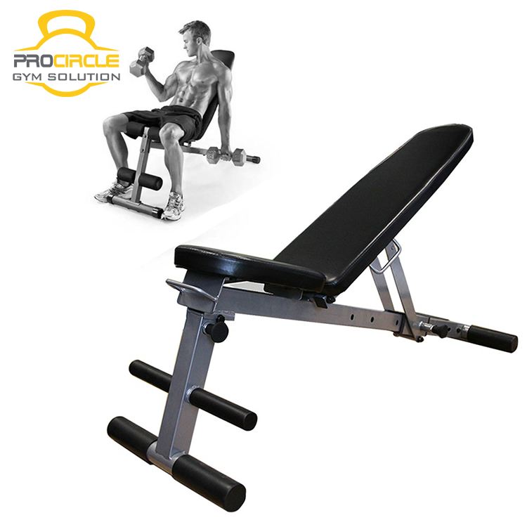 Sport Abdominal Trainer Flat Utility Adjustable Bench Sit Up Bench Foldable Weight Bench Training