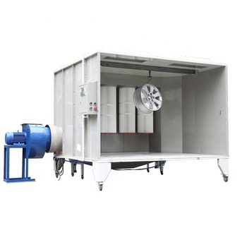 Small size Manual Powder Coating Machine Spray Paint Booth/Portable powder coating spray cabin